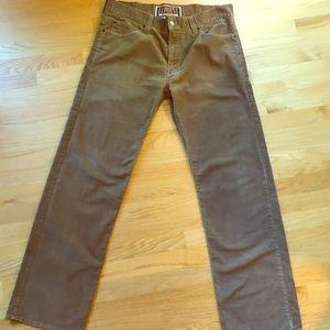 Levi's Tan Pinwale Corduroy Jeans 38x34